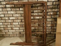 Antique twin head and foot board