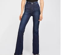 Women's free people flare jeans Union, 07083