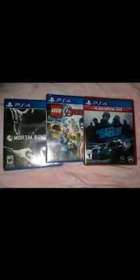 Ps4 games 8 each