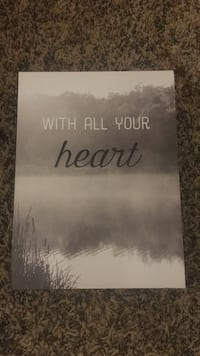 With All Your Heart Wall Decoration  Ames, 50010