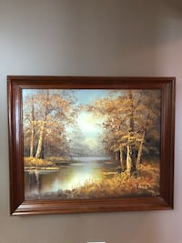 Oil painting - certificate of authenticity Coquitlam, V3B 5R5