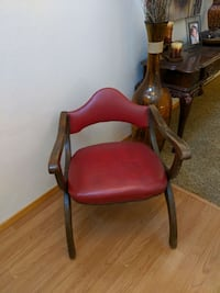 mid century style leather chair Portland, 97224