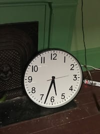 round black analog wall clock New Orleans, 70124