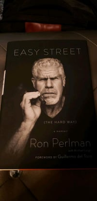 Ron Perlman signed book