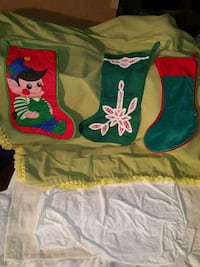 3 VINTAGE CHRISTMAS STOCKINGS Nazareth, 18064
