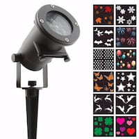 NIGHT STARS Holiday LED lights w/12 Slides For $40 + Free Gift