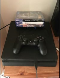 PS4 with console NEWORLEANS