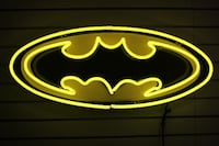Batman Neon Logo Sign