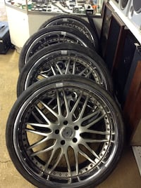 BMw rims and tiers  Mentone, 92359