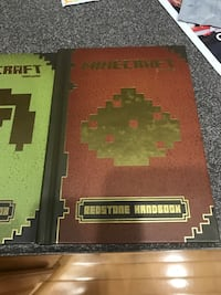 2 Minecraft books Fairfax, 22030