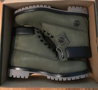 TIMBERLAND PREMIUM WATERPROOF BOOTS CUSTOM COLOR SIZE 11.5 MENS Boston, 02108