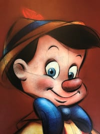 "Pinocchio Wall Art  23"" X 16"" Elkridge, 21075"