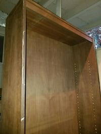 Tall wooden bookcase, sturdy Falls Church, 22044