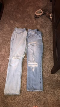 Two blue and gray denim jeans Wichita, 67215