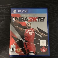 2k18 PS4 Mississauga, L5R