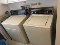 white washer and dryer set Flint, 48507