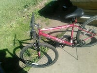 red and black full-suspension bike Circleville, 43113