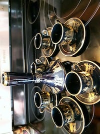 black and silver-colored tea set Laval, H7M 4T6