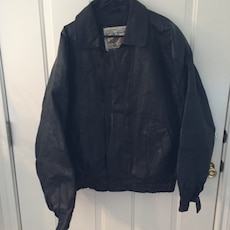 Large men's leather jacket by New Zealand Outback