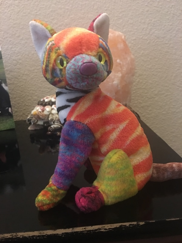 161018c81bd Kaleidoscope The Cat TY Beanie Baby Collectable usado en venta en ...