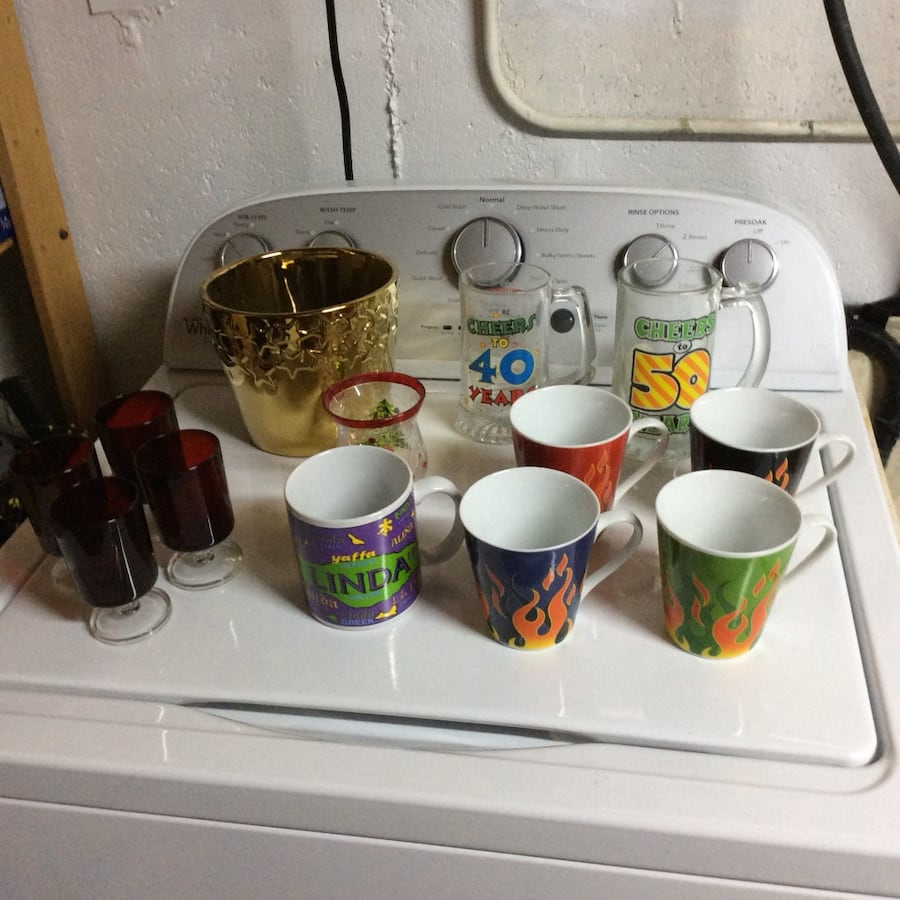 Mugs, cups etc, make an offer