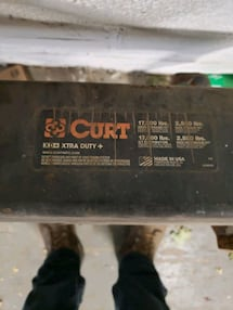 Curt Tow Hitch w/wires