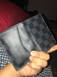 black and gray Louis Vuitton leather wallet Alexandria, 22314