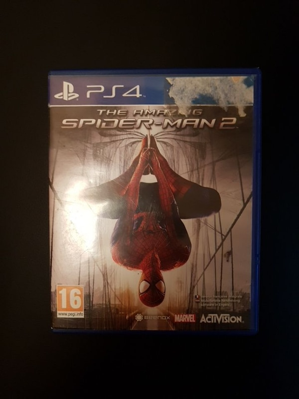 Jeux ps4 the amazing spiderman 2