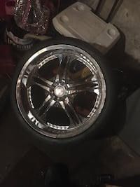 22 inc wheels open to trade for factory Grand Prix wheels  Chicago, 60637