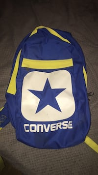 blue and yellow Dallas Cowboys backpack Montréal, H1R 2W9