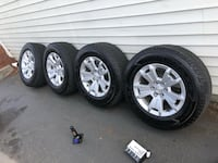 6 lug rims and tires practically new Bremerton, 98311