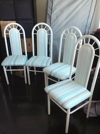 Four dining chairs - pick up asap Toronto, M3C 1T1