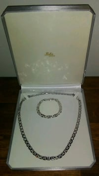 14k heavy plated set Everett