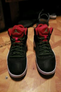 pair of black Air Jordan basketball shoes Robstown, 78380