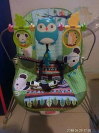 baby's green and blue bouncer Laredo, 78045