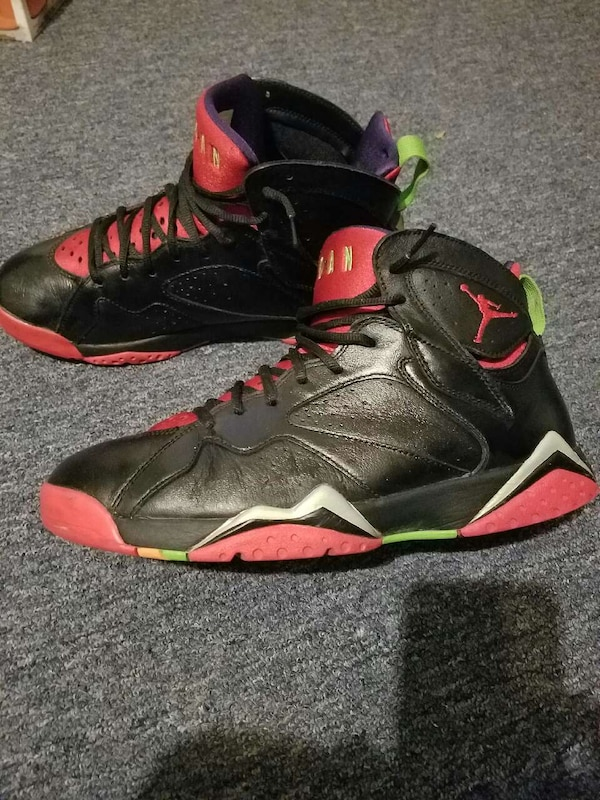 meet 014e9 22c0f Used Jordan 7 marvin the martian sz 10 decent cond.  65 for sale in  Cleveland - letgo