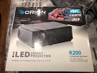 Orion 4K projector and screen  Oshawa, L1J 4C3
