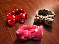 Brand new big bow headband , all for $10 Markham