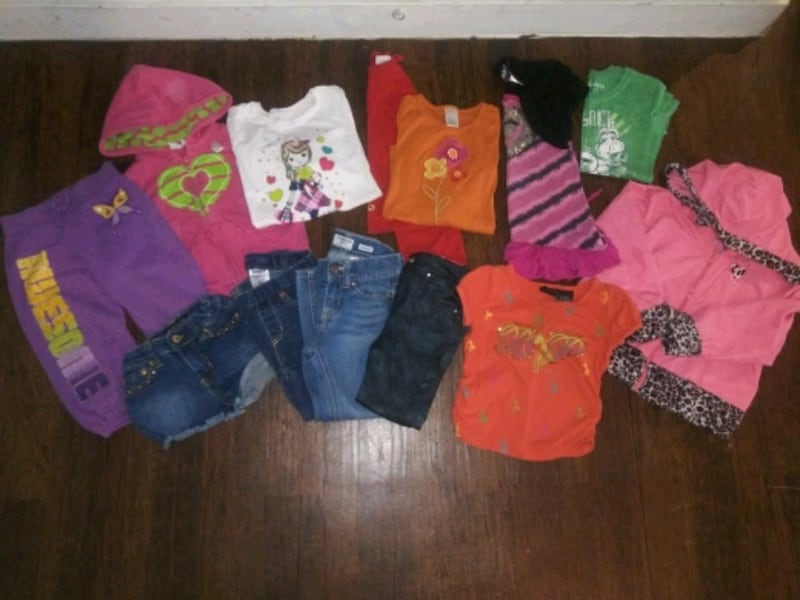 ***GIRL'S 4T-5T CLOTHING (24 PC.) COMBO DEAL!*** 0
