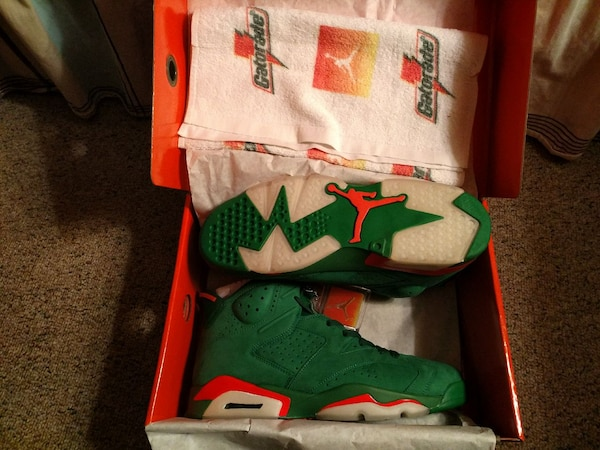 c186f1b787e625 Used Nike Air Jordan 6 Retro Gatorade Size 10.5 for sale in Atlanta - letgo