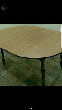 Oval Oak Table Northbridge, 01588