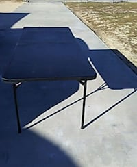 Black 6ft folding table  Apple Valley, 92307