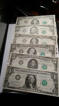 old small face US bills