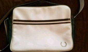 Vintage Fred Perry messenger bag