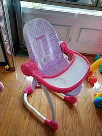 baby's pink and white bather Ellicott City, 21043