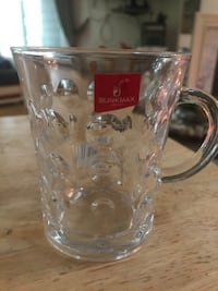 BlinkMax Clear Glass Tea Cup Coffee Mug 6 Cups 8oz Germantown, 20874
