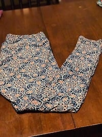 white and blue floral shorts Beaver, 15009