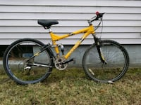 yellow full-suspension mountain bike Kokomo, 46901