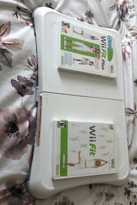 Wii fit and wii fit plus with scale and Zumba+ Zumba belt