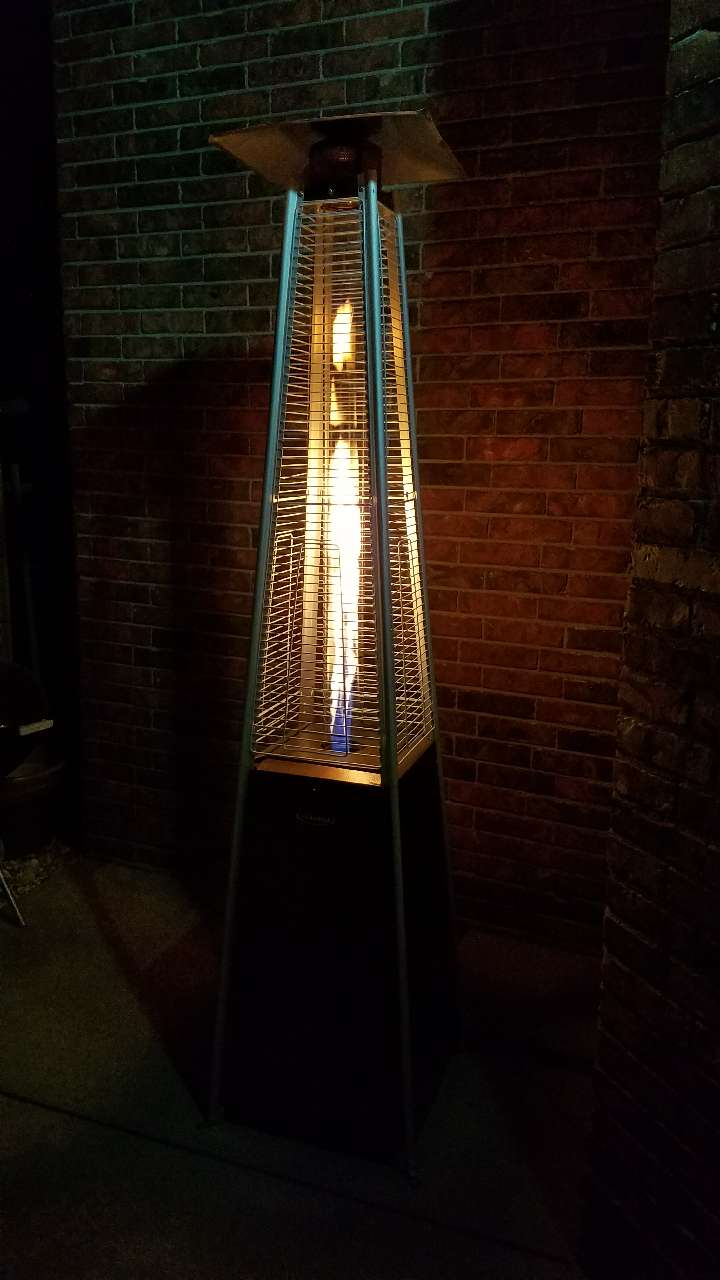 Glass Tube Patio Heater, HLDS01 GTHG